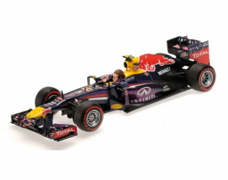 INFINITI RED BULL RACING RENAULT RB9 - MARK WEBBER - LAST F1 RACE BRAZIL GP 2013