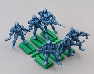 Набор фигурок / солдатиков Бронепехота Протекторат, Легкая роботизированная киберпехота