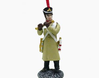 Фигурка Флейтщик Новоингерманландского пехотного полка, 1812–1814