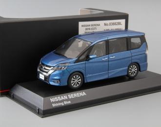 NISSAN Serena C27 (2016), shining blue