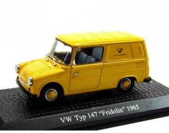 "VOLKSWAGEN Typ 147 ""Fridolin"" 1965 Yellow"