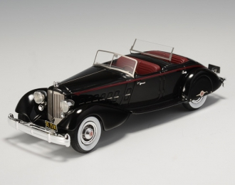 PACKARD Twelve 1108 Sport Phaeton Le Baron 1934, Black