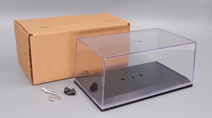 Пластиковый Бокс для моделей (155х90х70мм)