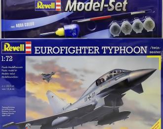 Сборная модель Истребитель Eurofighter Typhoon (подарочный набор)