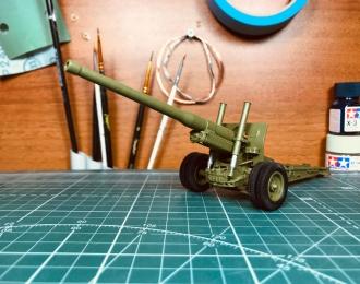 А-19 122-мм корпусная пушка (сдвоенные колеса)