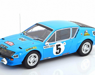 RENAULT Alpine A310 #5 Therier - Vial Rally Monte Carlo 1975