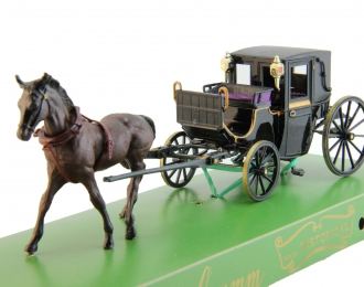 Lord Brougham's Coach (1834), black