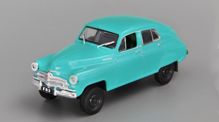 (Уценка!) Горький М72, Автолегенды СССР 95, голубой