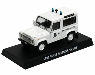 LAND ROVER Defender 90 UN (1998), white