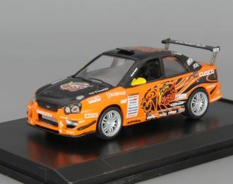 SUBARU Impreza Tuning, orange / black