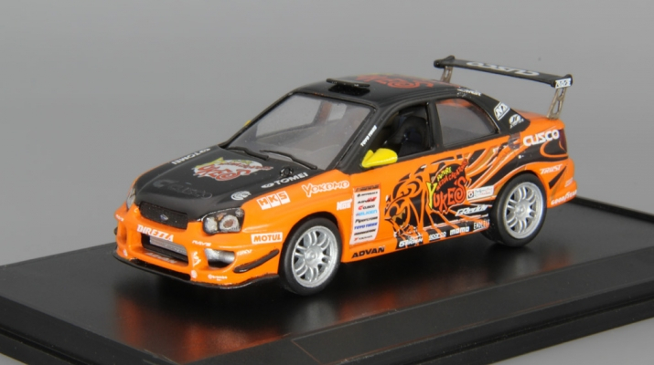 SUBARU Impreza Tuning, orange / black