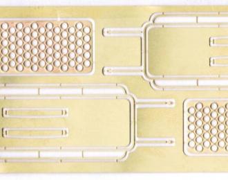 Фототравление Багажник на крышу ЗиЛ-131 (комплект из 2 шт)