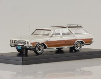 BUICK Sport Wagon (1965), white/holzoptik