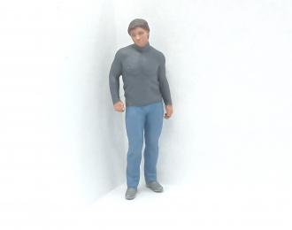 Фигура Мужчина стоит (Вариант 13), окрашенная
