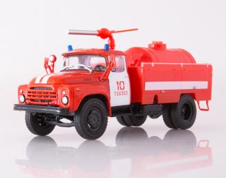 Пожарный автомобиль АП-3 (130), красный / белый