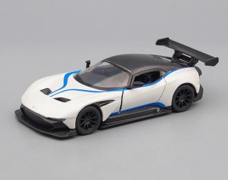 ASTON MARTIN Vulcan color line, white / blue