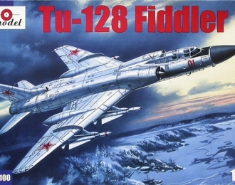 Сборная модель Советский перехватчик ПВО Ту-128