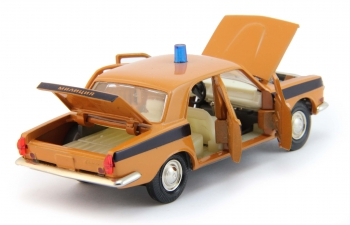 Горький 2401 ГАИ Милиция, грязно-оранжевый