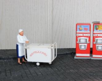 Продавщица тетя Клава