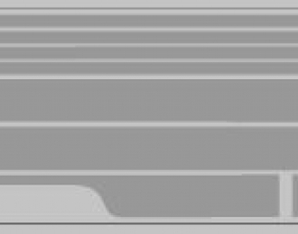 Набор декалей полосы на низ для Трамвая КТМ-5М3 серый (100х360)