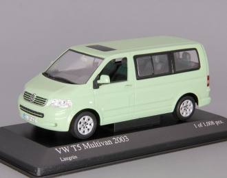 VOLKSWAGEN T5 Multivan (2003), light green