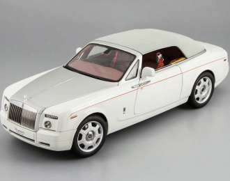 ROLLS ROYCE Phantom Drophead Coupe, white