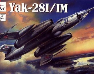 Сборная модель Советский бомбардировщик Як-28И / ИМ