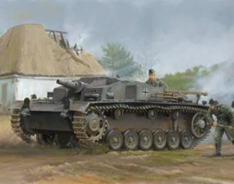 Сборная модель  WWII German Assault Gun Sturmgesch?tz III Ausf E (SdKfz 142)