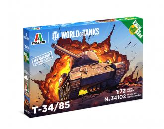 Сборная модель Танк T-34/85 - WoT