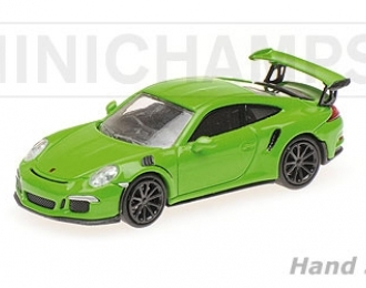 Posche 911 GT3 RS 2013 yellow green