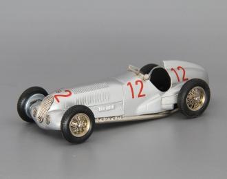 MERCEDES-BENZ W125 GP Monoposto #12 Caracciola Winner Monaco GP Germany, silver