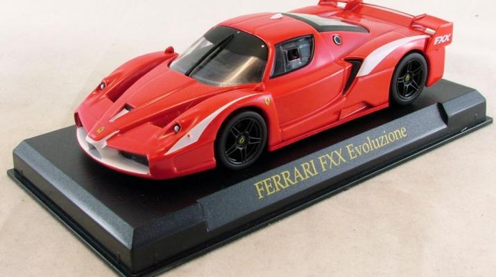FERRARI FXX Evoluzione 2007, red