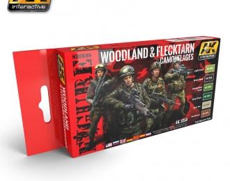 WOODLAND & FLECKTARN CAMOUFLAGES