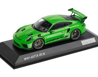 PORSCHE 911 GT3 RS, lizardgruen