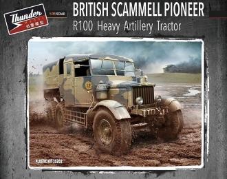 Сборная модель Британский тягач Scammel Pioneer R100