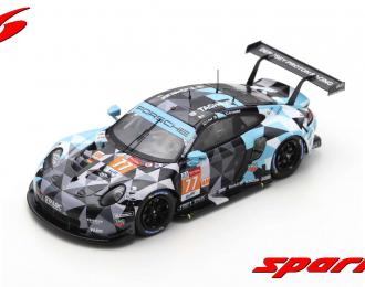 Porsche 911 RSR #77 Dempsey-Proton Racing 2nd LMGTE Am class 24H Le Mans 2020