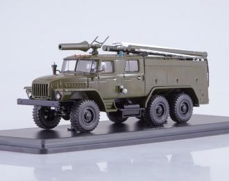 АЦ-40 (43202) ПМ-102Б, хаки