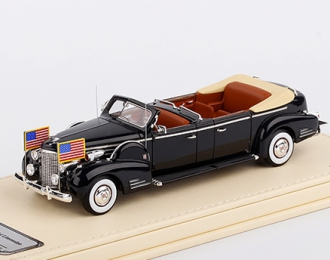 """Cadillac Series 90 V16 Presidential Limousine """"Queen Mary"""" 1938 (black)"""