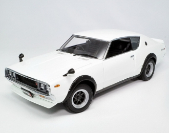Nissan Skyline GT-R 2000 (KPGC110) Street Sports 1972 (white wide-wheel)