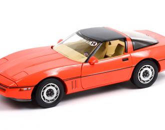 CHEVROLET Corvette C4 Jim Gilmore & AJ Foyt 1984 Hugger Orange