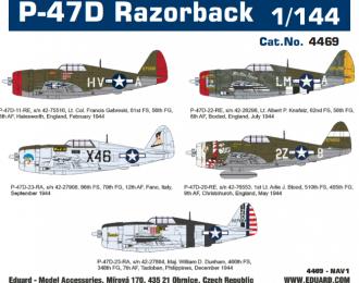 Сборная модель Истребитель P-47D Razorback