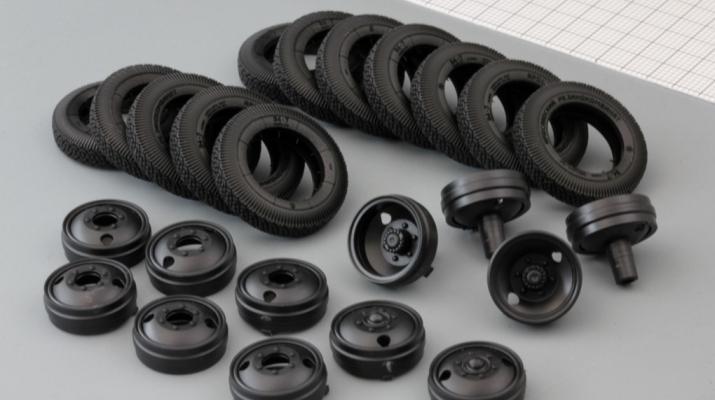 Резина, диски для ZIS-6 (резина Я-1/И-63, комплект 12 колес)