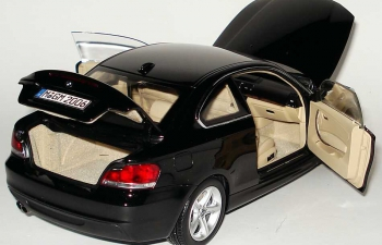 BMW 1er Coupe E82 (2007), saphir black met.