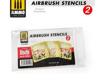 Трафарет для аэрографа 2 / Airbrush Stencil 2