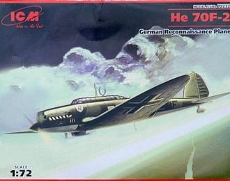 Сборная модель Немецкий самолет разведки Heinkel He-70 F-2