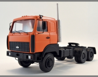 МАЗ 6425 седельный тягач, оранжевый