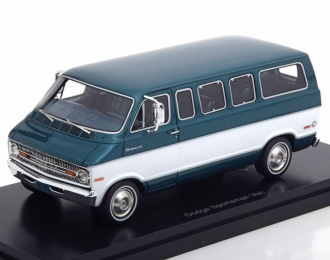 DODGE Sportsman Van (микроавтобус) 1973 Metallic Green/White