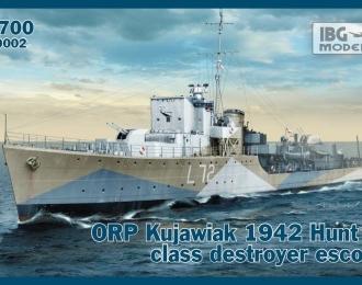 Сборная модель Польский эсминец ORP Kujawiak 1942г.