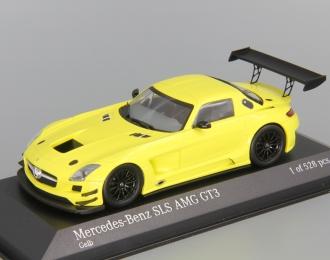 "MERCEDES-BENZ SLS AMG GT3 ""Street"" (2011), yellow"
