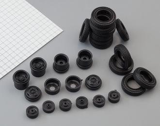 Резина, диски для ЗИL 133 6х4, протектор шашка